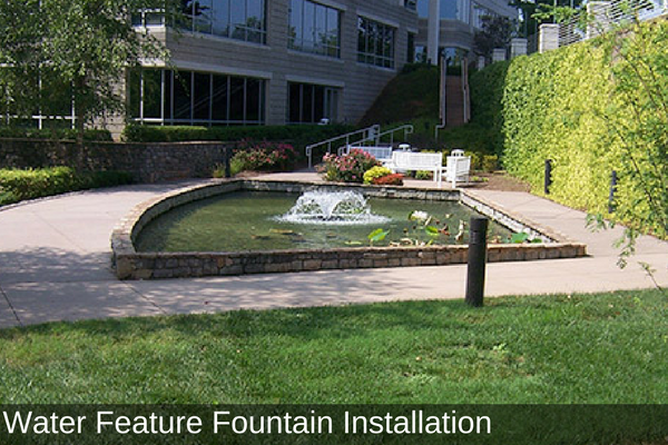 Water Feature Fountain Installation